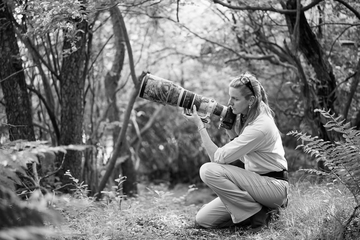 Melissa Groo With Camera